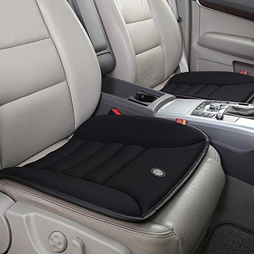 Car Seat Cushion - Car Seat Cushion Pad for Car Driver Seat Office chair Home Use Memory Foam Seat Cushion Black