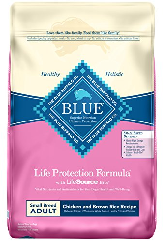 Blue Buffalo Life Protection Formula Small Breed Dog Food –...