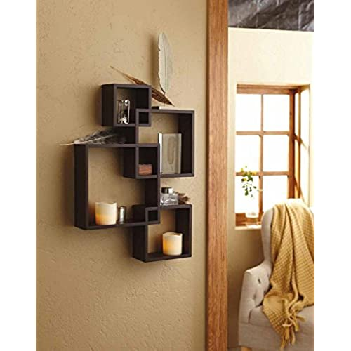 decorative shelf elisa new wall gold shelves silver floating