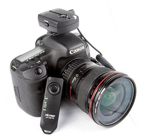 VILTORX JY-120-C1 wireless remote shutter release for Canon EOS camera 70D 60Da 60D T6s T6i T5i T3i