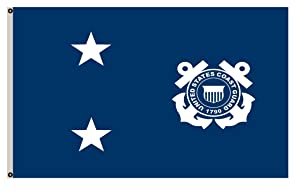 Fyon Large Rear Admiral in The United States Coast Guard Flag 3X5Ft