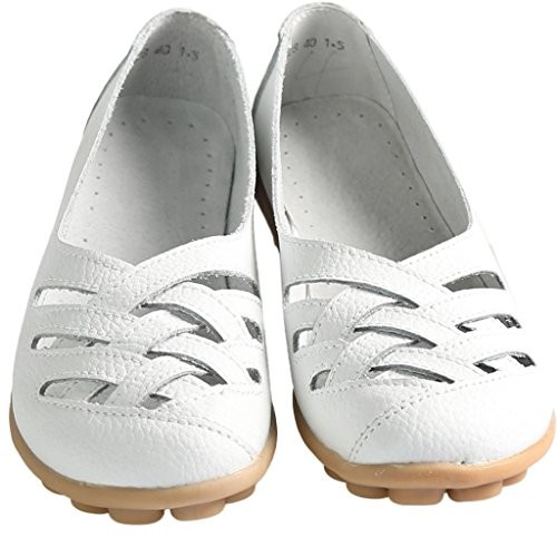 FangstoFlats - zapatilla baja mujer blanco
