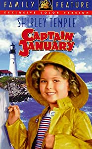 Amazon Com Shirley Temple Captain January Vhs Shirley
