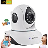 Vstarcam C38A HD 960P Indoor Wireless WIFI IP Camera Night Vision Two-way Voice Network CCTV P2P Onvif Multi-stream WPS Baby Monitor Mobile Phone Remote Monitoring (Maximum support 128G TF Card)