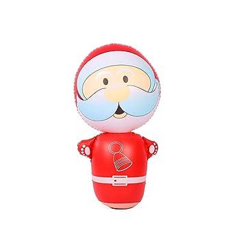 Amazon.com: Sikye - Vaso hinchable de Navidad, diseño de ...