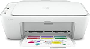 Hp DeskJet 27xx Series Wireless Bluetooth All-in-One Color Inkjet Printer - Instant Ink Ready - Print, Scan, Copy for Home Office - Icon LCD Display, Up to 1200 x 1200 dpi, SPMOR Printer Cable