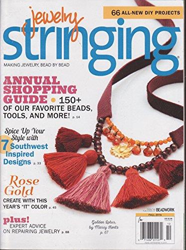 Jewelry Stringing Magazine Fall 2016