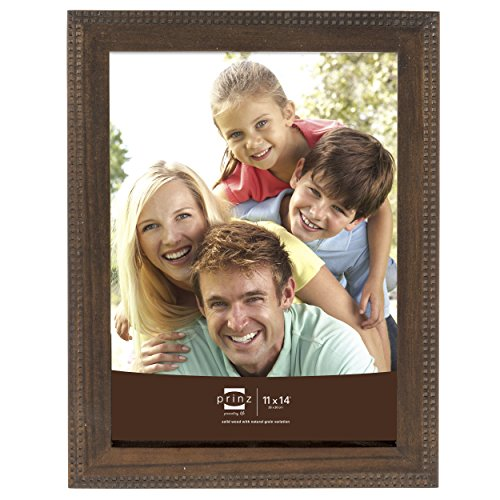 Prinz Sonoma Wood Frame with Embossed Square Pattern, 11 by