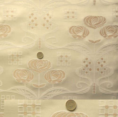 Rennie Mackintosh Curtain Fabric Functionalities Net