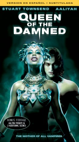 Queen of the Damned [USA] [VHS]: Amazon.es: Aaliyah, Stuart Townsend, Marguerite Moreau, Vincent Perez, Paul McGann, Lena Olin, Christian Manon, ...
