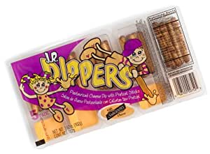 JR Dippers Cheese Dip with Pretzel Sticks, 5-Count Packages (Pack of 12)