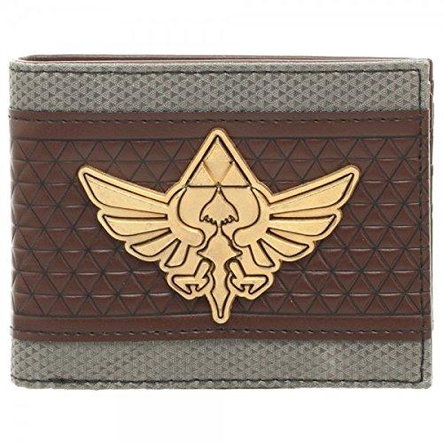 Nintendo Zelda Mix Material Bi-Fold Gift Boxed Wallet