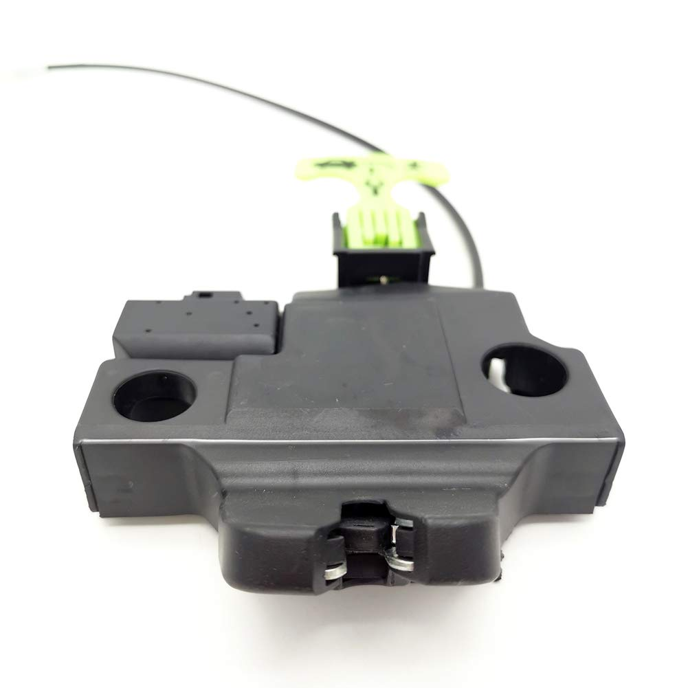 Cheriezing 64610-06031 Trunk Lid Door Lock Latch Actuator 2 PIN Connector with Cable for 2012-2014 Toyota Camry