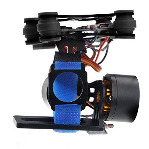 Crazepony Brushless Gimbal GoPro Camera Mount Gimbal Kit for DJI Phantom Hero3+ Hero3 3 Axis Ptz Controller