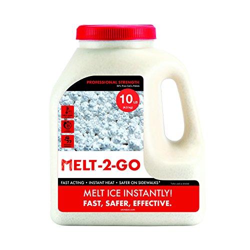 Snow Joe Melt-2-Go 94% Pure Calcium Chloride Pellet Ice Melter