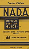 NADA Used Car Guide - Central Edition - July, 1999