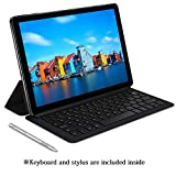 Chuwi Hi9 Plus Tablet,4G LTE Unlocked Phablet,Dual SIM Card,MTK 6797 X27 10 Core Android 8.0 Tablet,4G+128G,Dual Band WiFi,2560x1600 Resolution Screen,with Keyboard and Hipen H3 Stylus