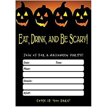 Amazon Spooky Halloween Party Invites Envelopes Pack Of 50