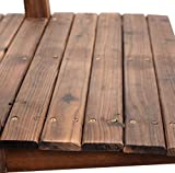 New 5'' Wooden Bridge Stained Finish Solid Wood