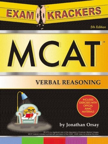 Examcrackers MCAT Verbal Reasoning and Math (Examkrackers)