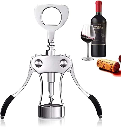 Alloy Cork Puller Corkscrew Wine Beer Bottle Opener