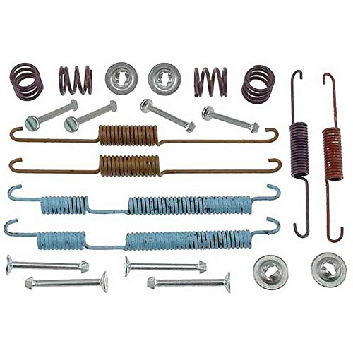 Accent Kit Spring - ACDelco 18K2368 Professional Rear Drum Brake Spring Kit with Springs, Pins, and Retainers