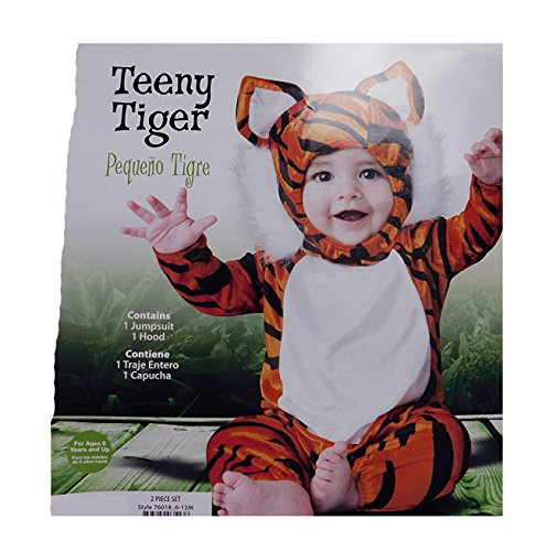 Teeny Tiger Baby Costume size 6-12 months