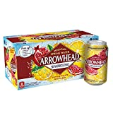 Arrowhead Sparkling Water, Pomegranate Lemonade, 12 oz. Cans (Pack of 8)