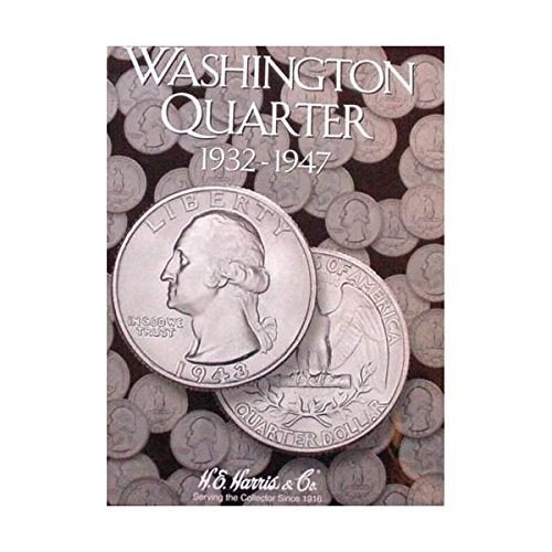 Harris Washington Quarter 1932 – 1947 Coin Folder 2688