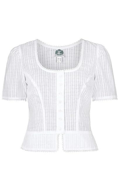 stylistisches Aussehen Qualitätsprodukte weltweit bekannt Hammerschmid Damen Trachtenbluse kurz weiß, WEIß,: Amazon.de ...