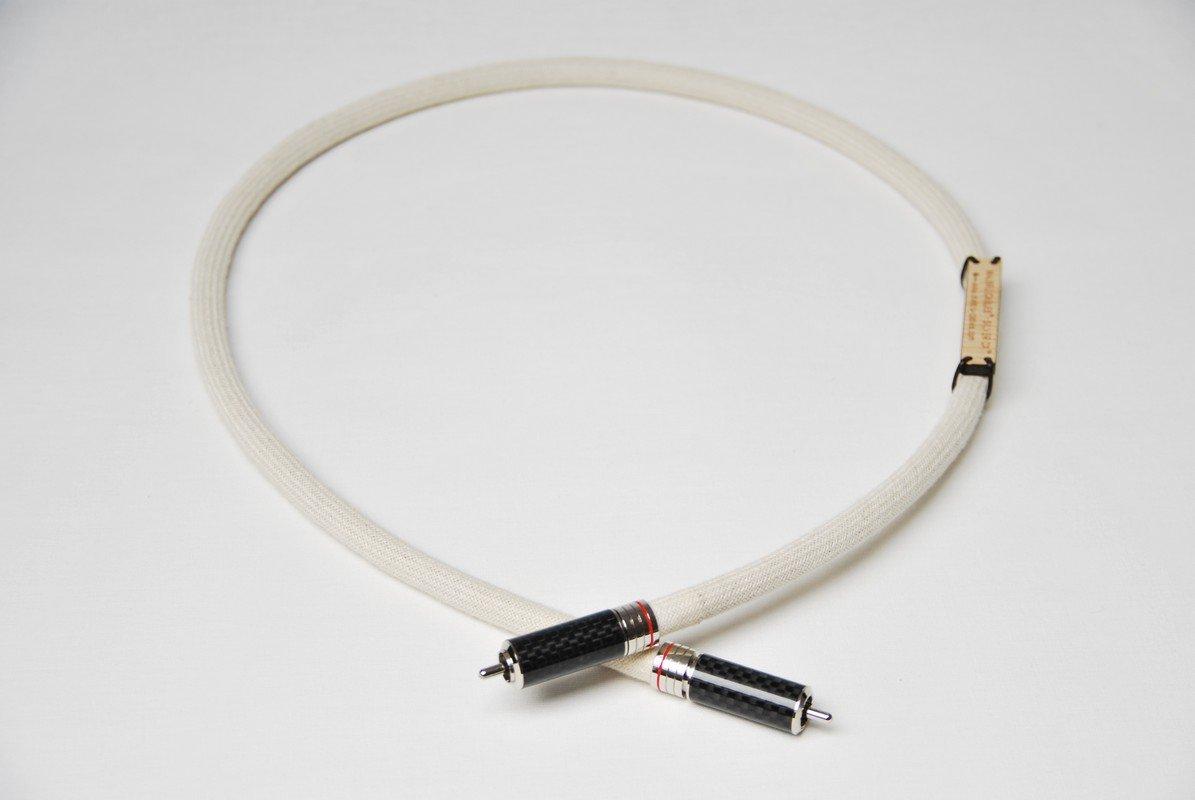 Cable de audio SPDIF, plateado de interconexión de Audio Digital de alta calidad CX - profesional fabricado en Reino Unido para los usuarios más exigentes.