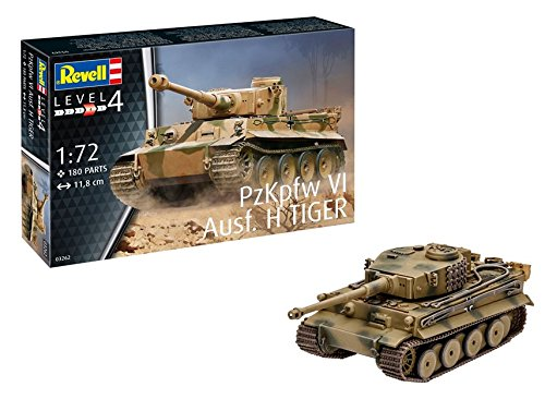 Revell Gmbh 03262 Pzkpfw Vi Ausf H Tiger Tank Model Kit, 1:72 Scale ()