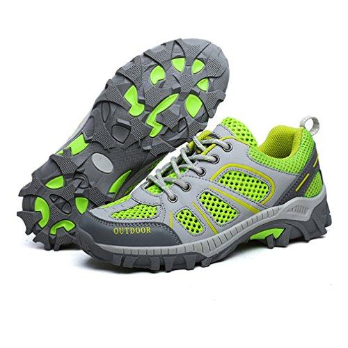 XIGUAFR Unisex adulto bajo caño de Verde botas r6InXAr