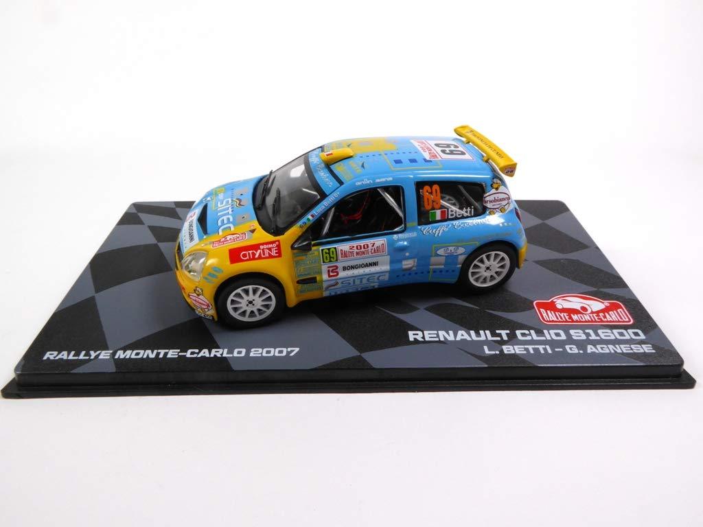 Eaglemoss RENAULT CLIO S1600 2007 Betti 1:43 Ixo BR9