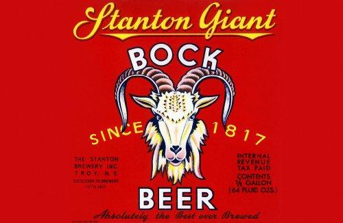 ArtsyCanvas Stanton Giant Bock Beer 30