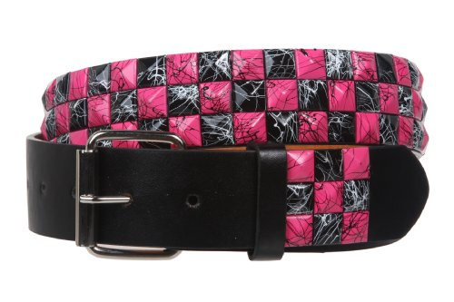 Hot Pink Checker - Snap On 1 1/2