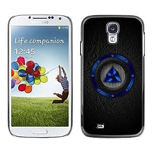 Be Good Phone Accessory // Dura Cáscara cubierta Protectora Caso Carcasa Funda de Protección para Samsung Galaxy S4 I9500 // Blue Speaker
