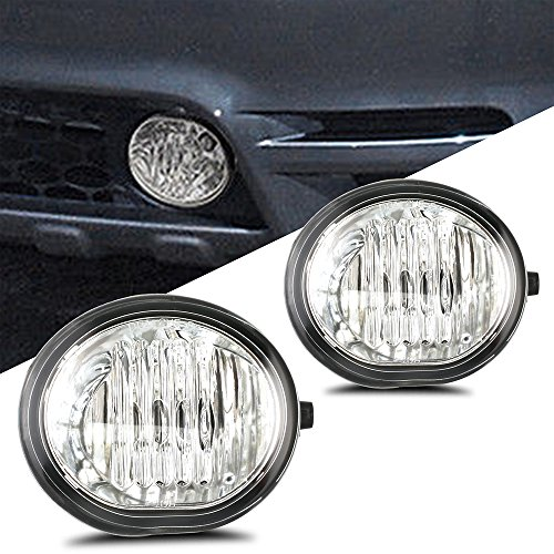 Scitoo Fog Light Assembly Kit fit TOYOTA MATRIX 2003 2004 2005 2006 2007 2008 OE/Replacement Fog Lamp(Wiring Kit Include) In - Oe Replacement Lamp Fog