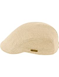 Sterkowski Men's Summer Linen Canvas Flat Cap