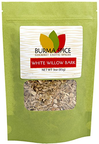 White Willow Bark : Herbal Tea : Natural Pain Reliever : Kosher (3oz.) (Salix Pussy Willow)