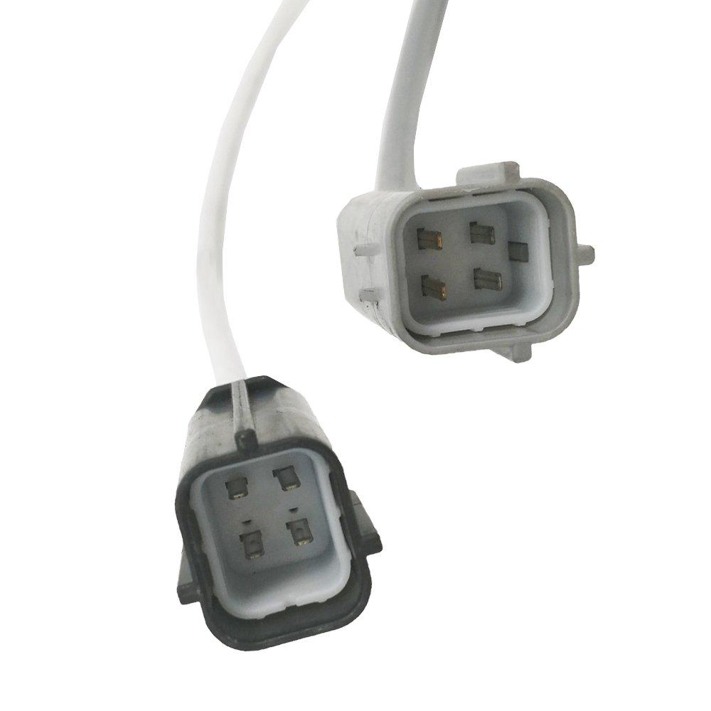 Amrxuts 4pcs Upstream Downstream O2 Oxygen Sensor for 2008-2009 Altima Coupe Sedan 2009 Maxima Sedan SG1408 234-9038