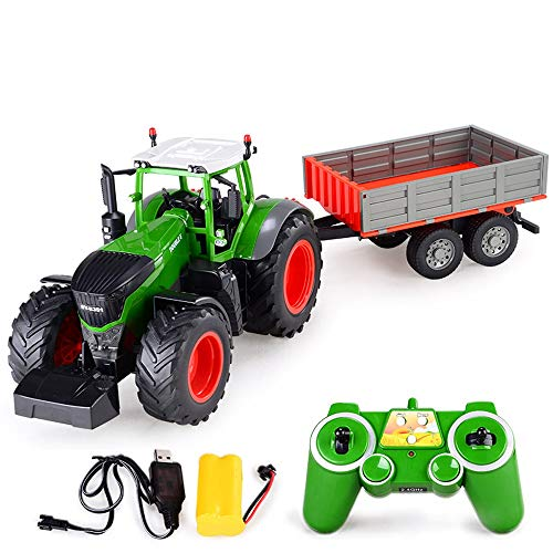ElevenY RC Truck Farm Tractor 2.4G Remote Control Trailer for sale  Delivered anywhere in Canada