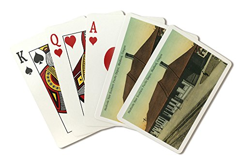 - Southern Pacific Railroad Depot in Medford, OR (Playing Card Deck - 52 Card Poker Size with Jokers)