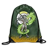 Overwatch Genji White Shoulder Sackpack