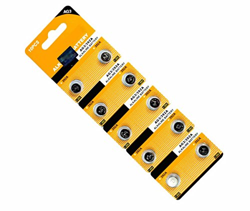 AOR Power #AR146 1.5 Volt Alkaline LR41 AG3 192 Button Batte