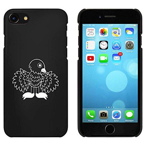 Noir 'Oiseau' étui / housse pour iPhone 7 (MC00056455)