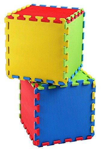 16 Piece Puzzle Exercise Floor Play Mat Eva Foam Rubber