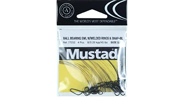 Mustad Ball Bearing Swivel With Welded Ring NEW @ Otto/'s Tackle World