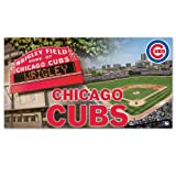 MLB Chicago Cubs 28 x 52-Inch Floor Mat