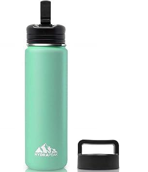 Amazon.com: Hydrapeak Botella de agua aislada al vacío de ...